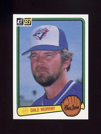 1983 Donruss Baseball #381 Dale Murray - Toronto Blue Jays