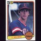 1983 Donruss Baseball #324 Von Hayes - Cleveland Indians