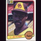 1983 Donruss Baseball #247 Joe Pittman - San Diego Padres