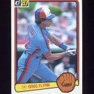 1983 Donruss Baseball #240 Doug Flynn - Montreal Expos