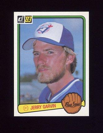 1983 Donruss Baseball #227 Jerry Garvin - Toronto Blue Jays