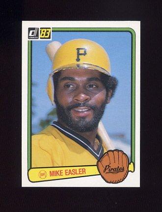 1983 Donruss Baseball #221 Mike Easler - Pittsburgh Pirates