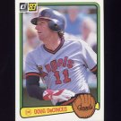 1983 Donruss Baseball #216 Doug DeCinces - California Angels