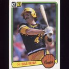 1983 Donruss Baseball #185 Dale Berra - Pittsburgh Pirates