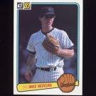 1983 Donruss Baseball #108 Mike Morgan - New York Yankees
