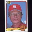 1983 Donruss Baseball #064 Bob Forsch - St. Louis Cardinals