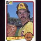 1983 Donruss Baseball #044 Floyd Chiffer - San Diego Padres