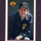 1989 Bowman Baseball #415 Brian Fisher - Pittsburgh Pirates