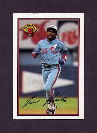 1989 Bowman Baseball #369 Tim Raines - Montreal Expos