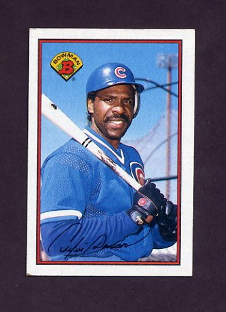 1989 Bowman Baseball #298 Andre Dawson - Chicago Cubs