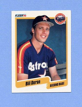 1990 Fleer Baseball #230 Bill Doran - Houston Astros