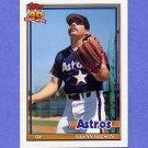 1991 Topps Baseball #476 Glenn Wilson - Houston Astros