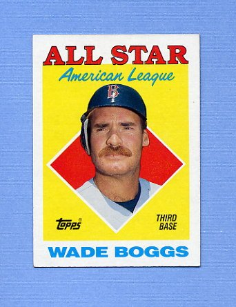 1988 Topps Baseball #388 Wade Boggs AS - Boston Red Sox