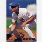 1995 Ultra Baseball #416 David Segui - New York Mets