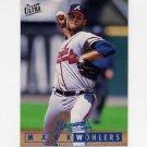 1995 Ultra Baseball #356 Mark Wohlers - Atlanta Braves