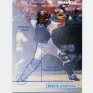 1992 Pinnacle Baseball #615 Benito Santiago TECH - San Diego Padres