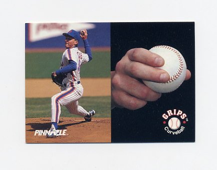 1992 Pinnacle Baseball #611 David Cone GRIP - New York Mets