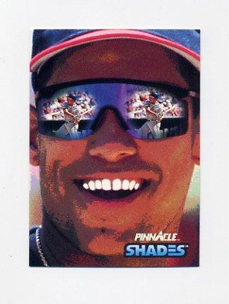 1992 Pinnacle Baseball #604 David Justice SHADE - Atlanta Braves