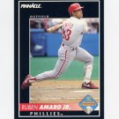 1992 Pinnacle Baseball #570 Ruben Amaro - Philadelphia Phillies