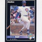 1992 Pinnacle Baseball #534 Derrick May - Chicago Cubs