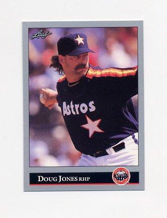 1992 Leaf Baseball #253 Doug Jones - Houston Astros
