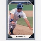 1991 Leaf Baseball #393 Kevin Maas - New York Yankees