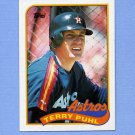 1989 Topps Baseball #119 Terry Puhl - Houston Astros ExMt