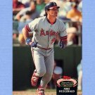 1992 Stadium Club Baseball #844 Mike Fitzgerald - California Angels