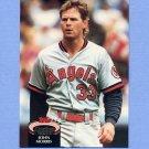 1992 Stadium Club Baseball #796 John Morris - California Angels