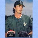 1992 Stadium Club Baseball #681 John Briscoe - Oakland A's