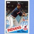 1985 Topps Baseball #263 Mel Hall - Cleveland Indians