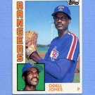 1984 Topps Baseball #734 Odell Jones - Texas Rangers