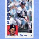 1984 Topps Baseball #653 Dave Stapleton - Boston Red Sox