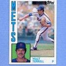 1984 Topps Baseball #549 Walt Terrell - New York Mets