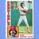 1984 Topps Baseball #467 Mike Ramsey - St. Louis Cardinals