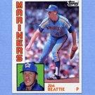 1984 Topps Baseball #288 Jim Beattie - Seattle Mariners