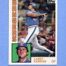1984 Topps Baseball #169 Larry Parrish - Texas Rangers