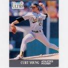 1991 Ultra Baseball #257 Curt Young - Oakland A's ExMt