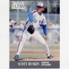 1991 Ultra Baseball #209 Scott Ruskin - Montreal Expos