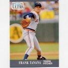 1991 Ultra Baseball #128 Frank Tanana - Detroit Tigers