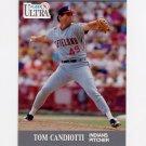 1991 Ultra Baseball #109 Tom Candiotti - Cleveland Indians