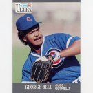 1991 Ultra Baseball #055 George Bell - Chicago Cubs