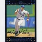 2007 Topps Baseball #581 Mike Sweeney - Kansas City Royals