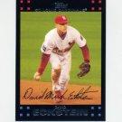 2007 Topps Baseball #491 David Eckstein - St. Louis Cardinals