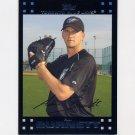2007 Topps Baseball #334 A.J. Burnett - Toronto Blue Jays