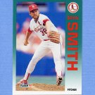 1992 Fleer Baseball #590 Bryn Smith - St. Louis Cardinals