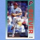 1992 Fleer Baseball #523 Joe Boever - Philadelphia Phillies