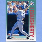1992 Fleer Baseball #300 Jack Daugherty - Texas Rangers