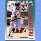 1992 Fleer Baseball #203 Dan Gladden - Minnesota Twins