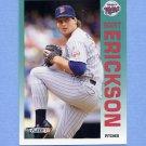 1992 Fleer Baseball #201 Scott Erickson - Minnesota Twins